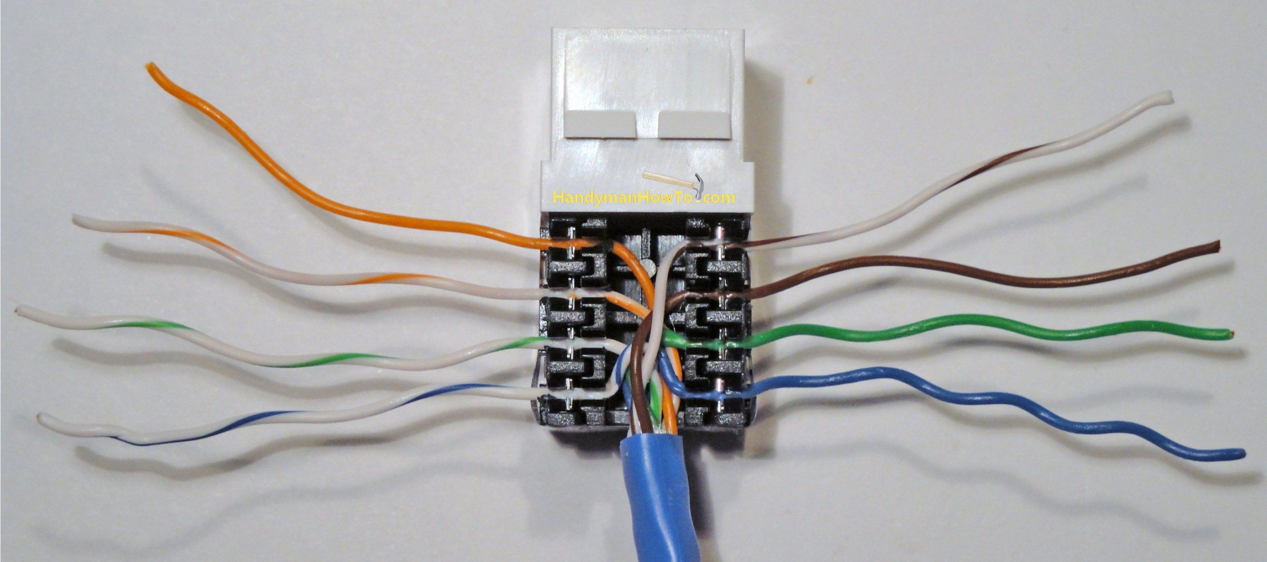 Cat 5 Outlet Wiring Diagram