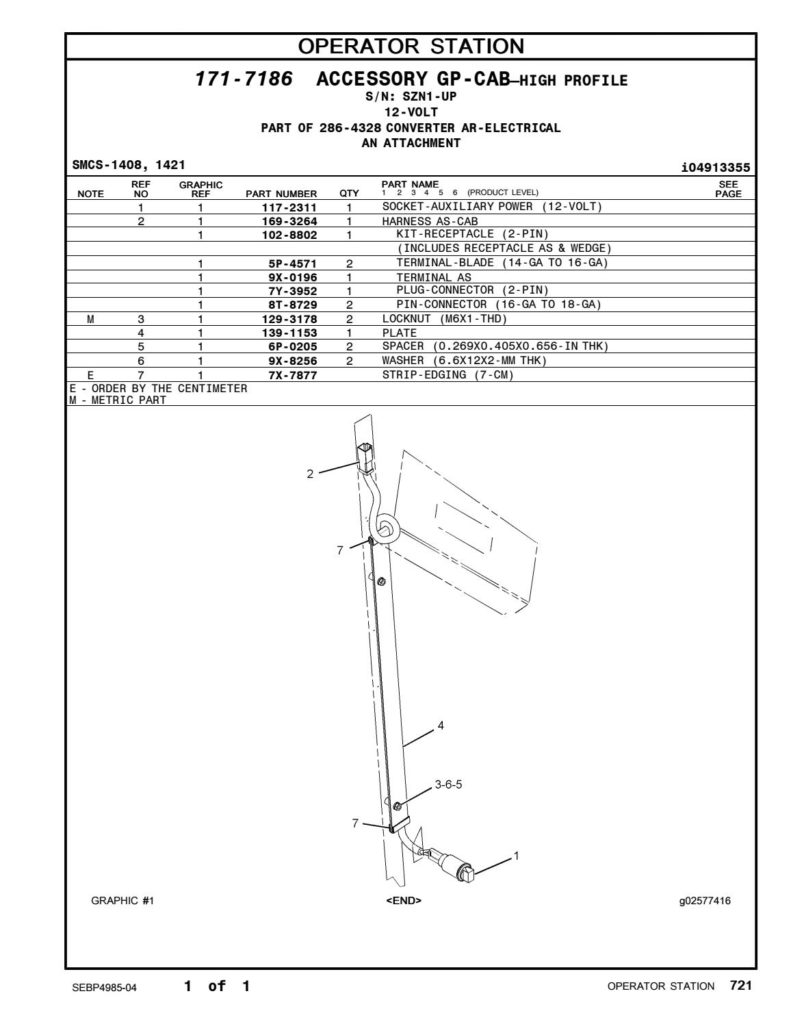 CAT GRADER 140H PARTS MANUAL Auto Electrical Wiring Diagram