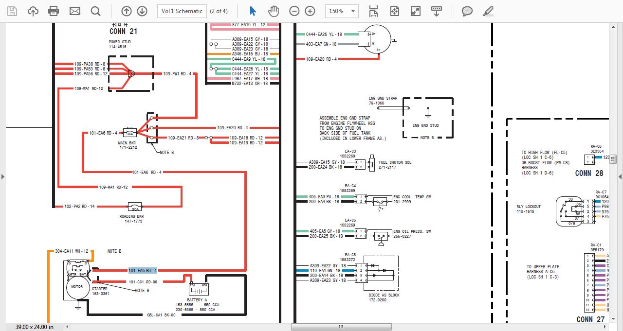Cat 257b Wiring Diagram