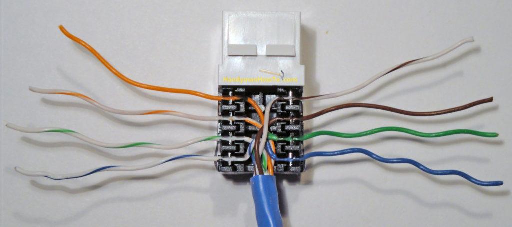 Ce Tech Cat5e Jack Wiring Diagram Free Wiring Diagram