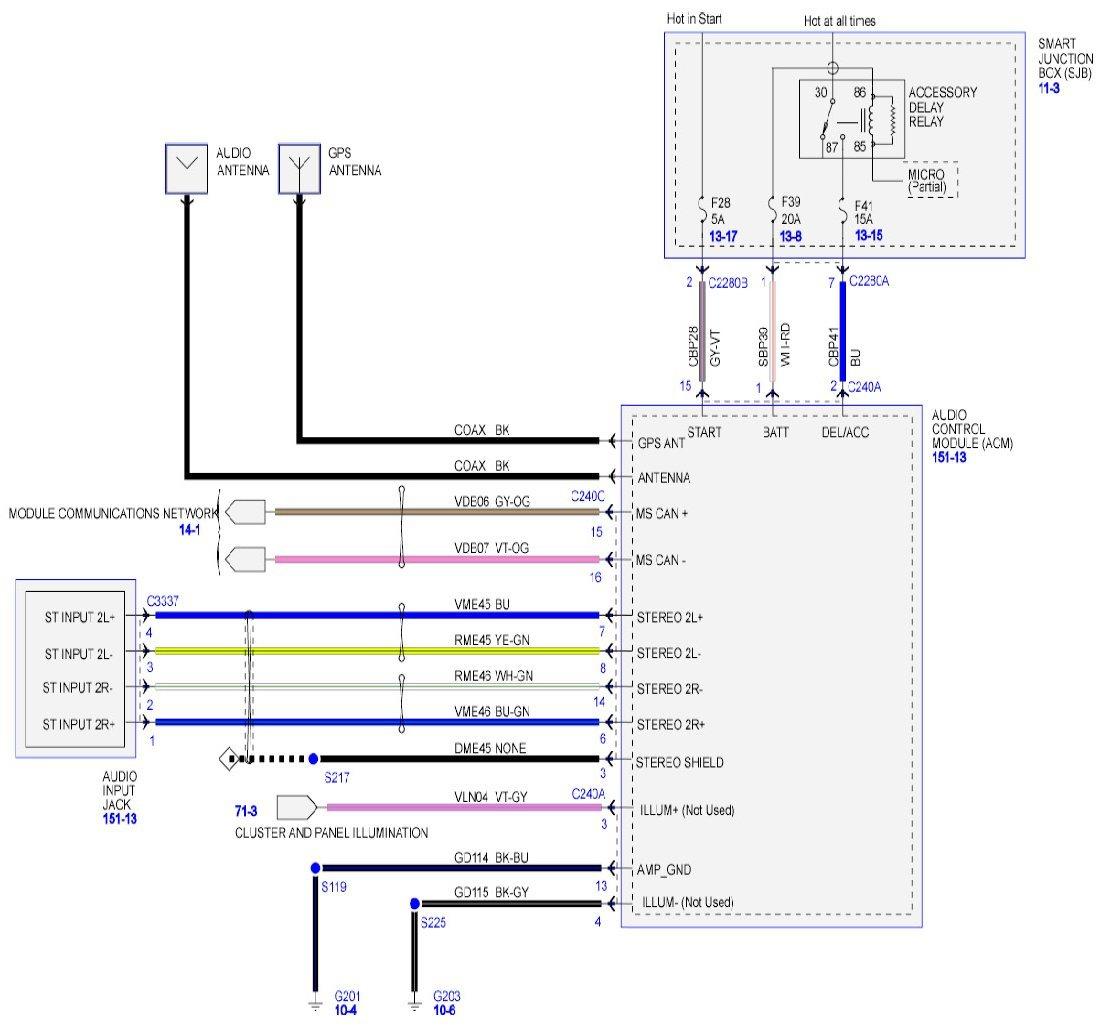 2008 Ford Super Duty Trailer Wiring Diagram