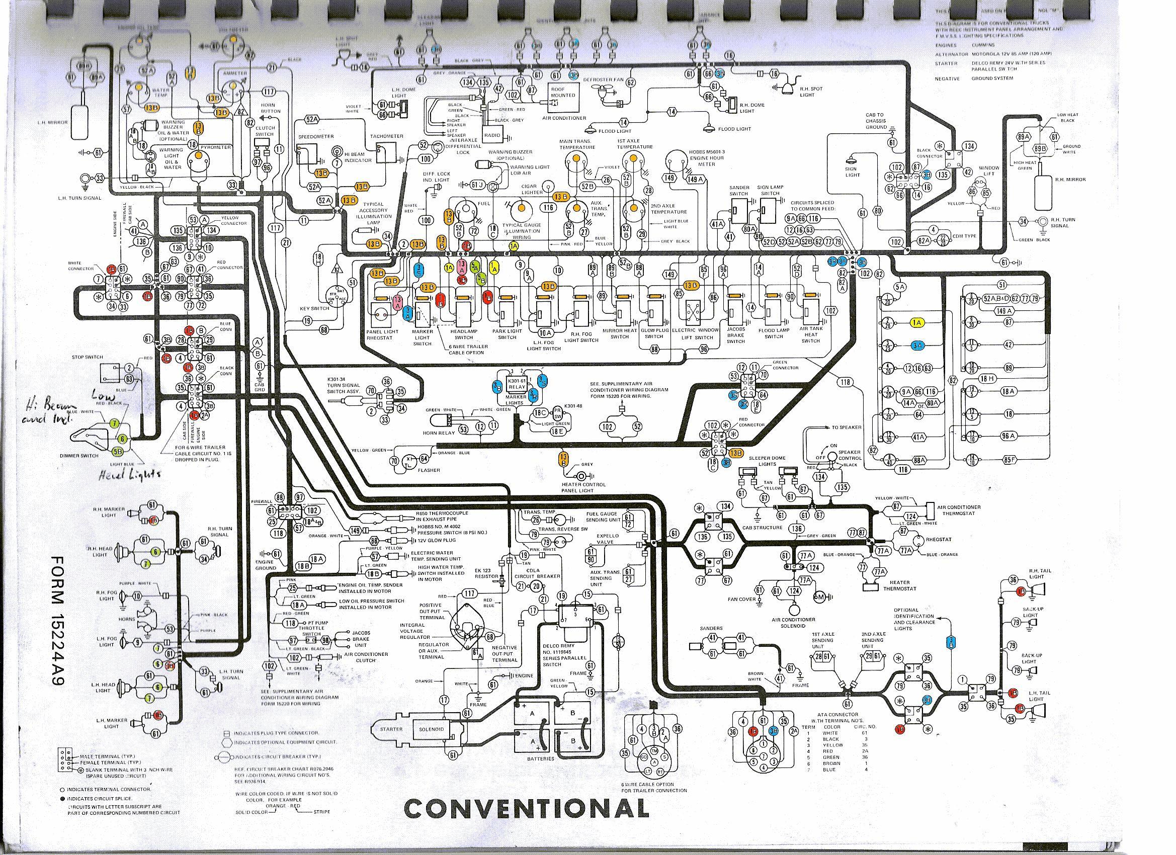 Kenworth Trailer Plug Wiring Diagram