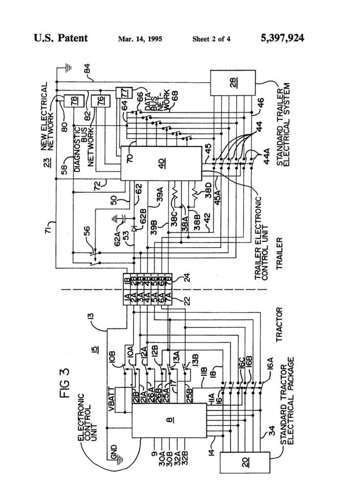 Semi Trailer Abs Wiring Diagram Trailer Wiring Diagram