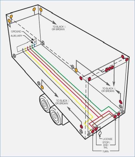 Semi Trailer Light Wiring Diagram Auto Electrical Wiring