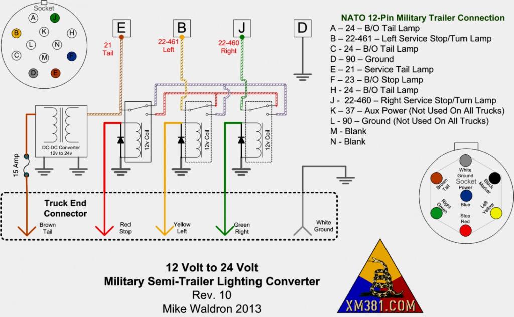Semi Trailer Lights Wiring Diagram Trailer Wiring Diagram