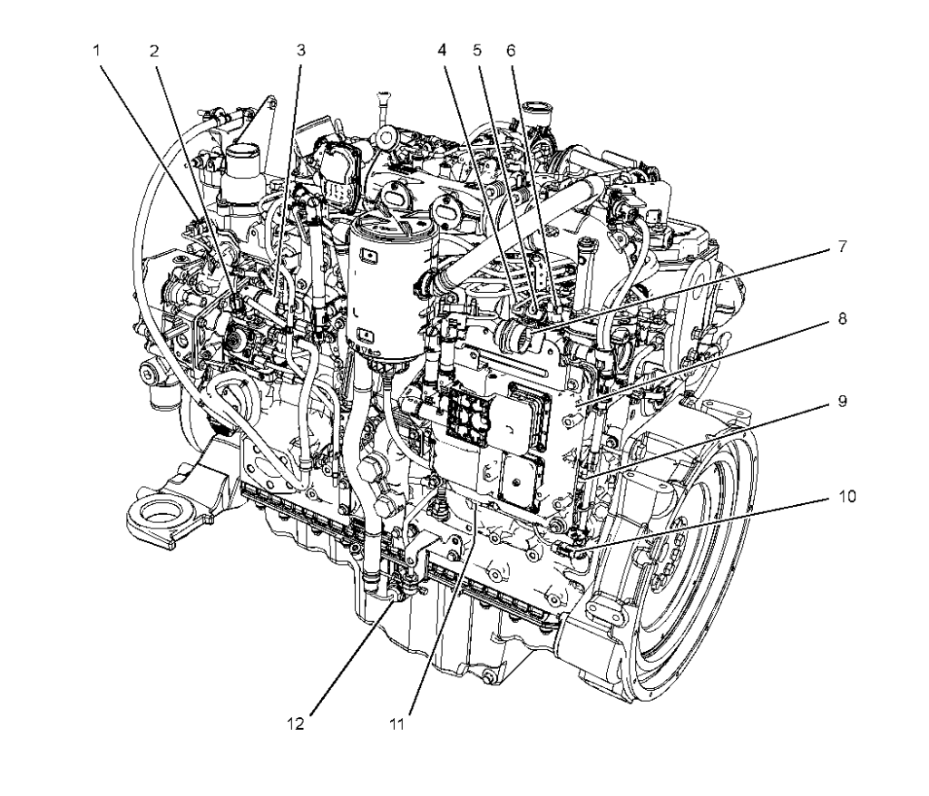 Sensors And Electrical Connectors C7 1 Engines For