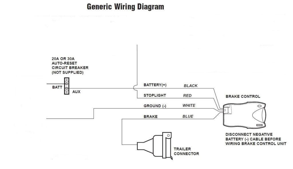 Tekonsha Trailer Brake Controller Wiring Diagram Trailer