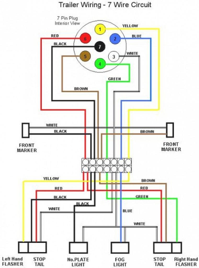 Trailer Light Wiring Diagram 7 Way Wiring Diagram