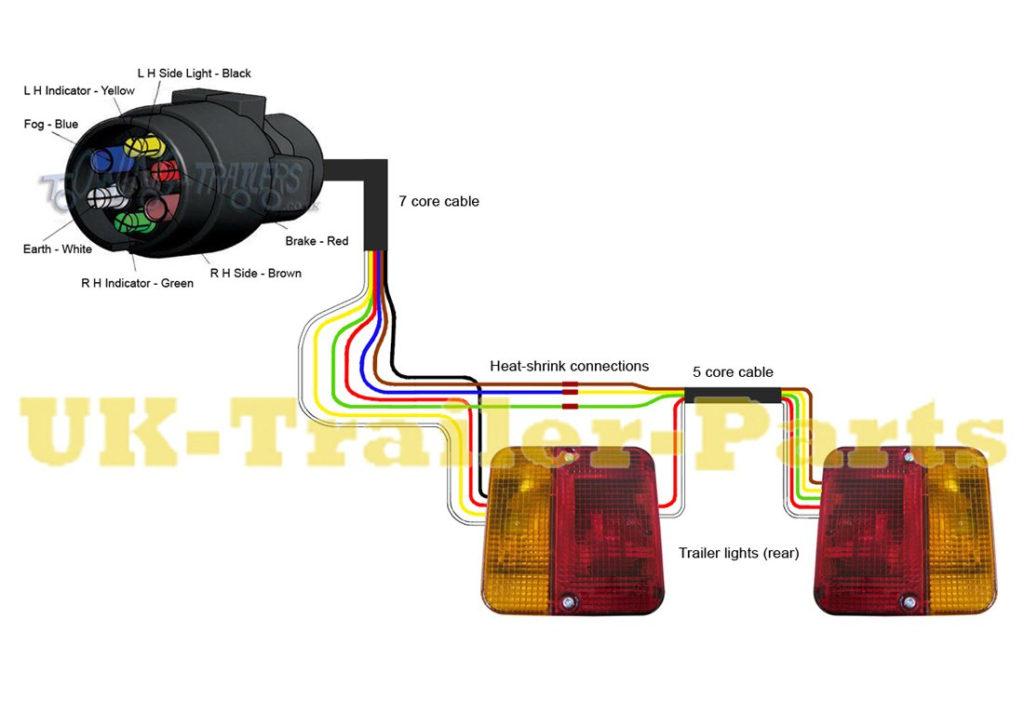Trailer Lights Wiring Diagram 7 Pin Australia Trailer