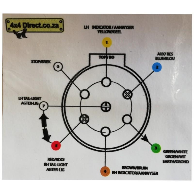 Trailer Plug Wiring Diagram Ireland 7 Way Trailer Plug
