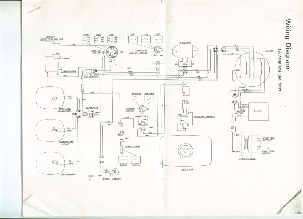 Wiring Diagram Arctic Cat Snowmobile Wiring Diagram