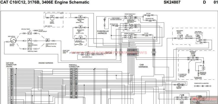 Cat 3406e Wiring Diagram