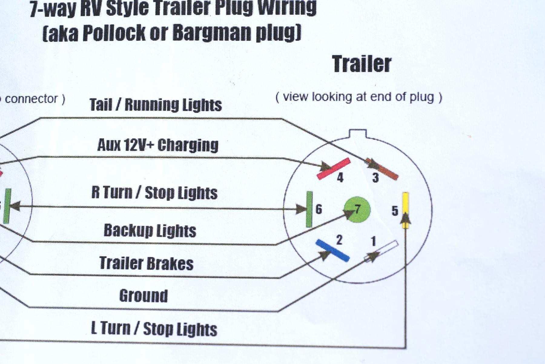 4 Way Trailer Plug Wiring Diagram