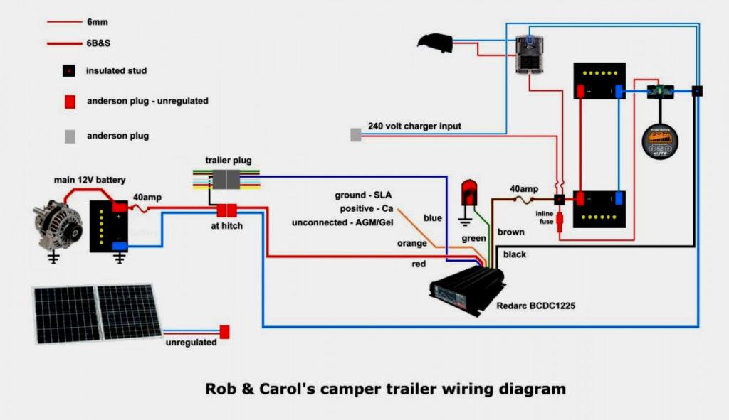 12V Wiring Diagram Camper Trailer Trailer Wiring Diagram