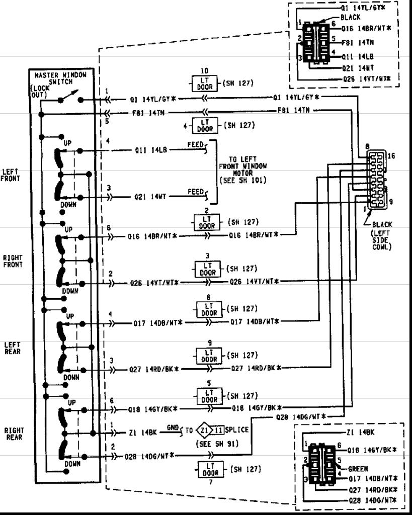 1994 Jeep Grand Cherokee Radio Wiring Harness Images