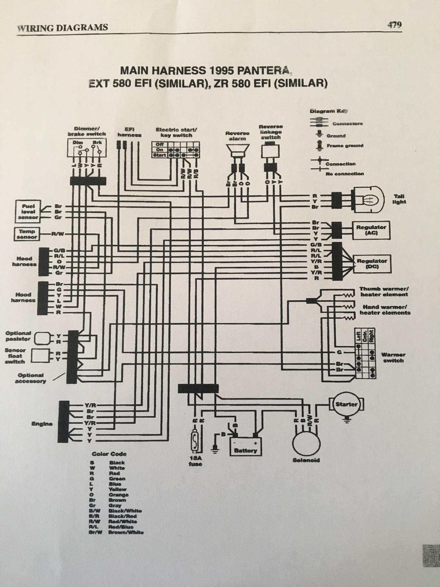 Bass Cat Pantera 2 Wiring Diagram