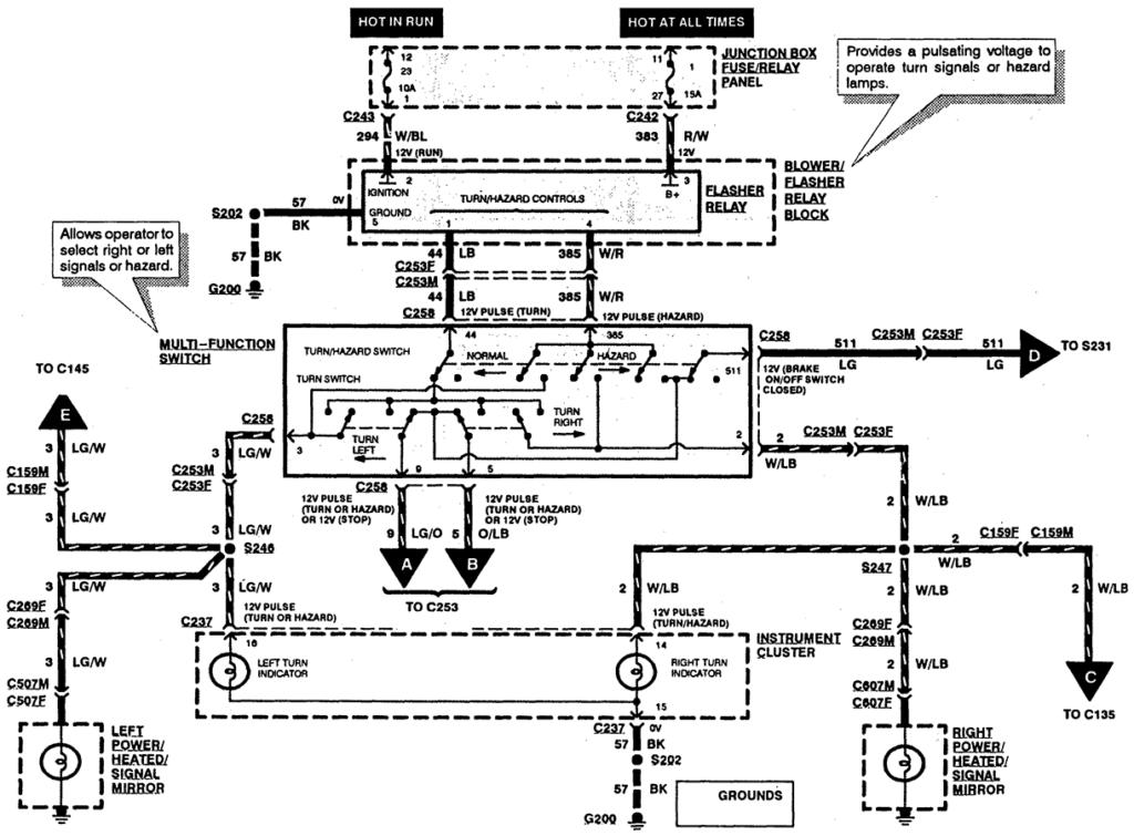 1996 Ford F250 Trailer Wiring Diagram Trailer Wiring Diagram