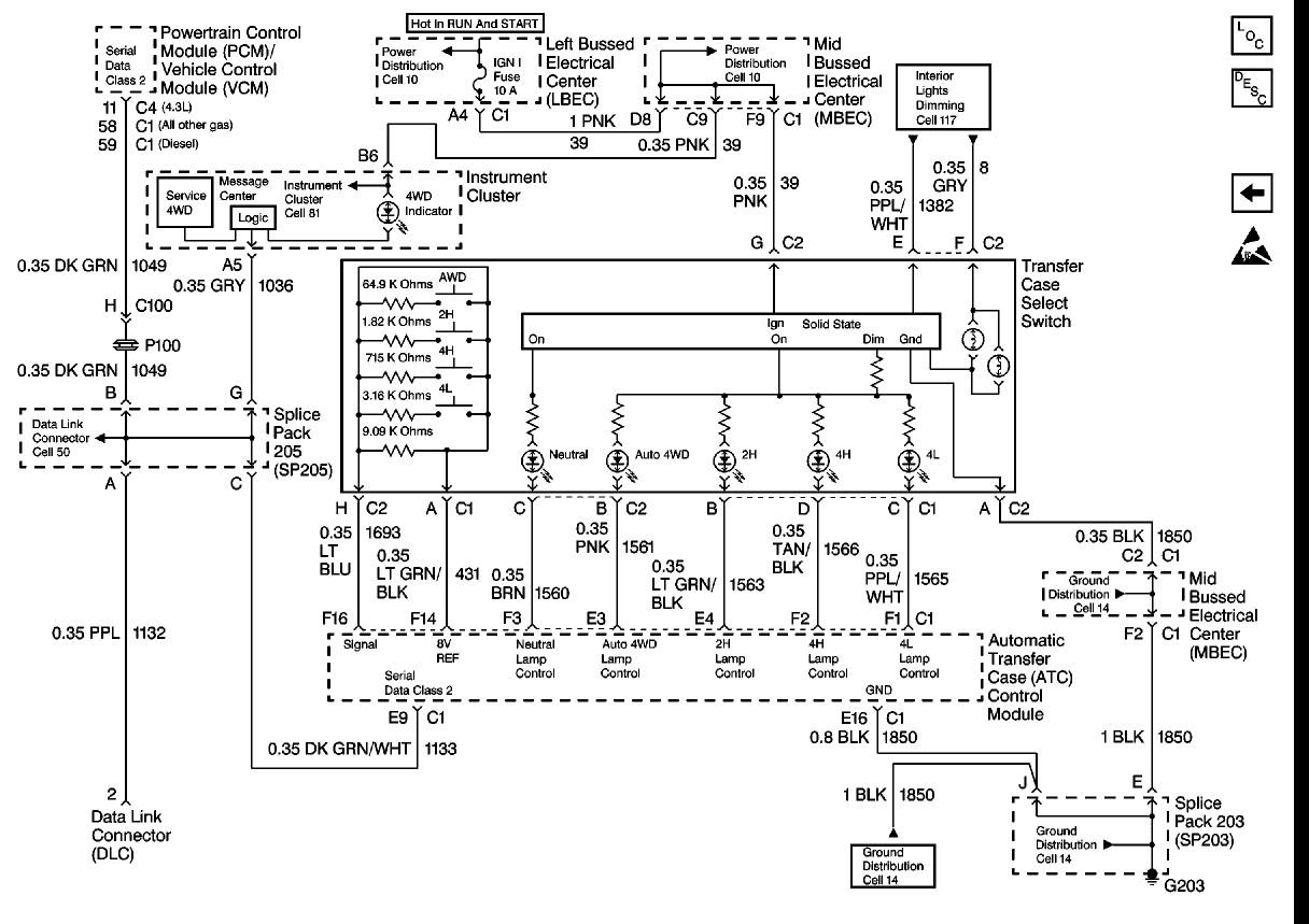 1999 Silverado Trailer Wiring Diagram