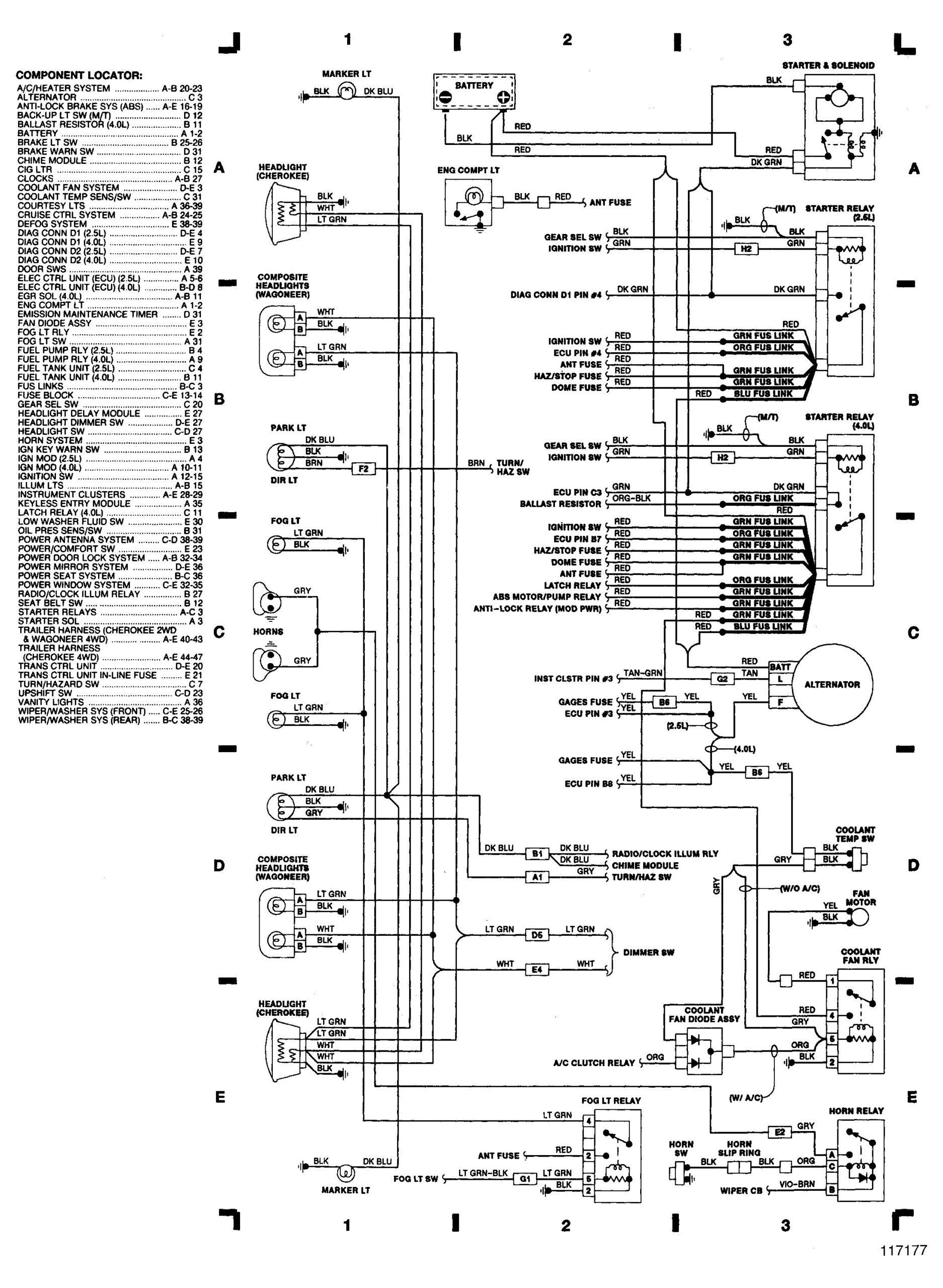 2000 Jeep Grand Cherokee Trailer Wiring Diagram