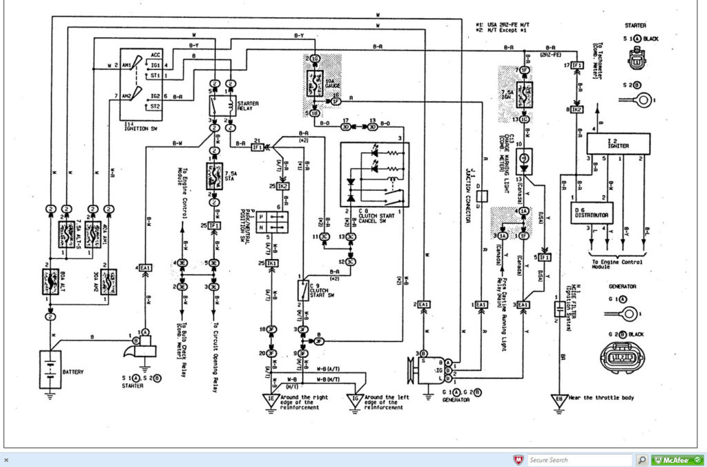 2000 Toyota Tundra Trailer Wiring Diagram Trailer Wiring