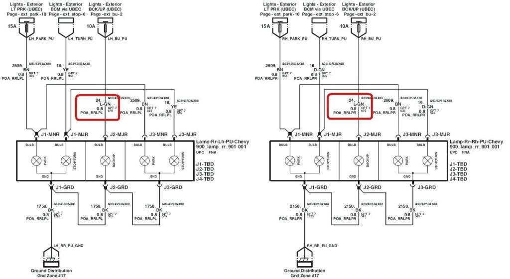 2001 Chevy Silverado 1500 Trailer Wiring Diagram Trailer