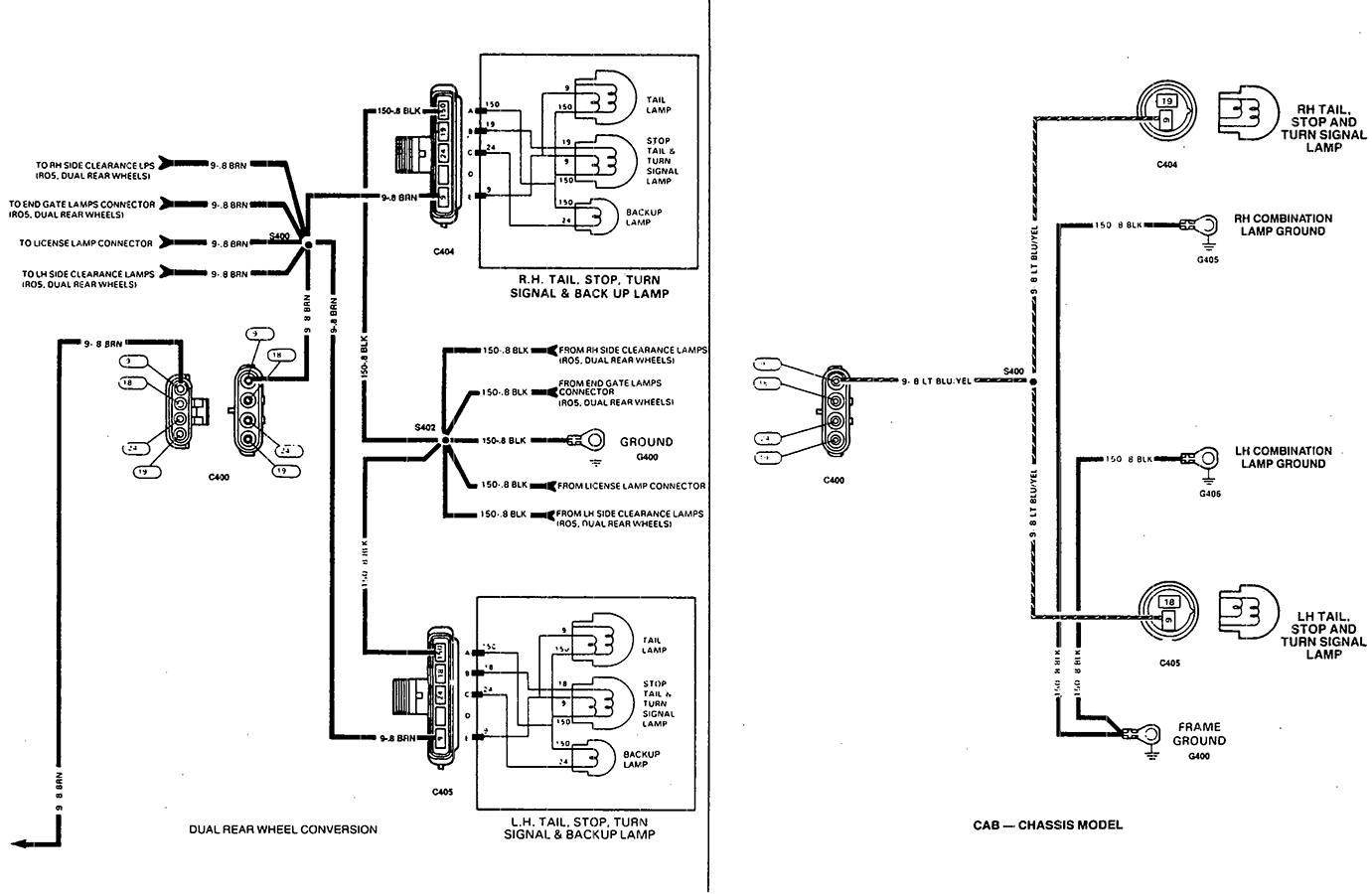 2001 Chevrolet Silverado Trailer Wiring Diagram