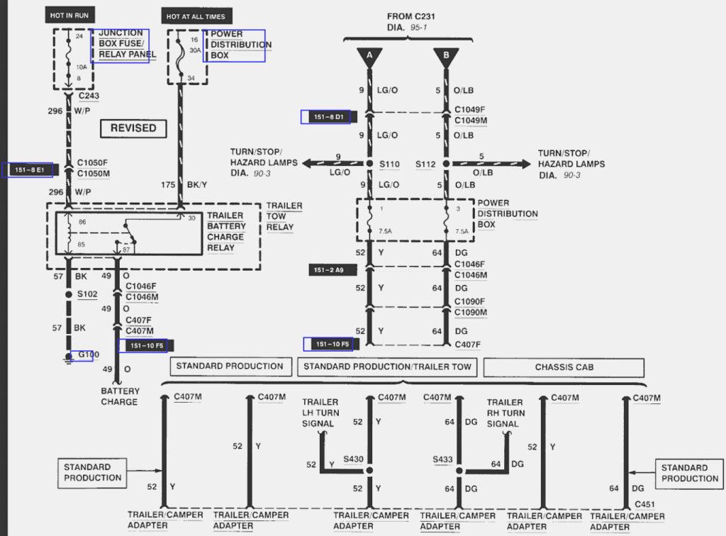 2002 F250 Trailer Wiring Diagram Trailer Wiring Diagram