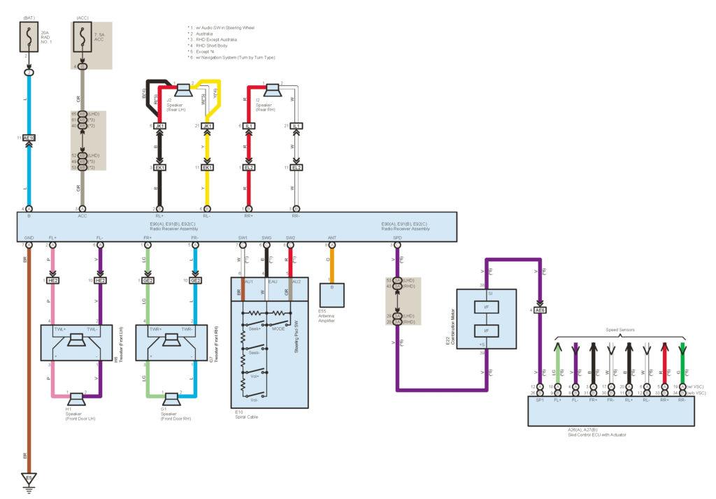 2002 Toyota Tacoma Trailer Wiring Diagram Wiring Diagram