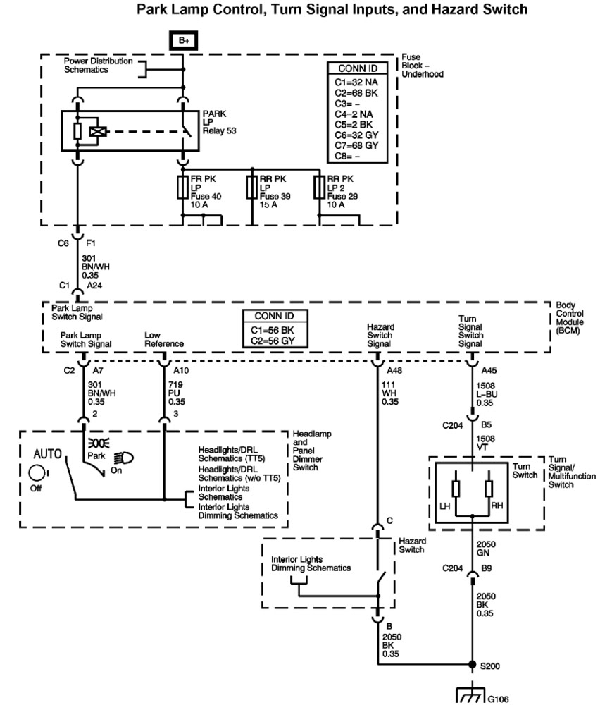 2006 Chevy Trailblazer Trailer Wiring Diagram Trailer