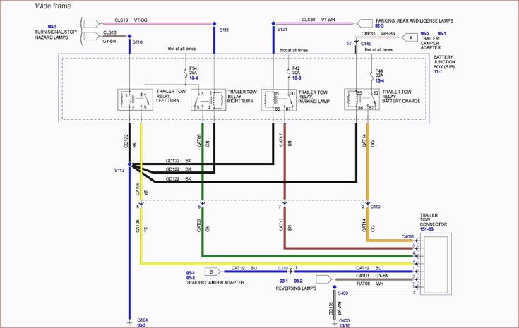 2006 F350 Trailer Wiring Diagram