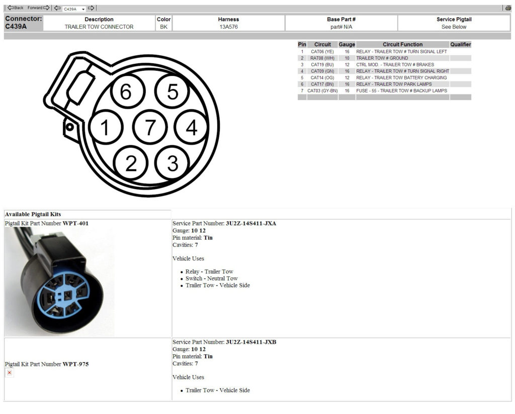 2014 Ford F150 Trailer Wiring Diagram Trailer Wiring Diagram