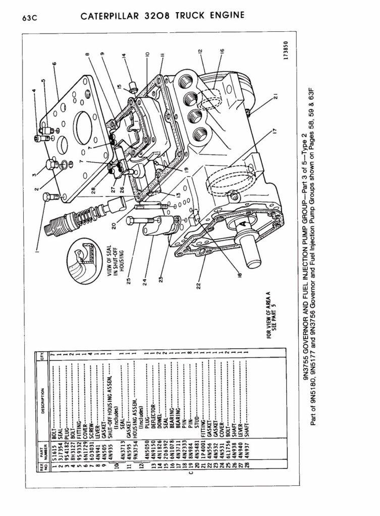 35 3208 Cat Engine Parts Diagram Wiring Diagram Database