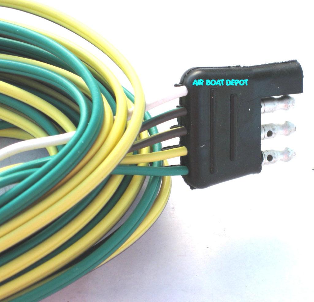 4 Way Flat Trailer Connector Wiring Diagram Trailer