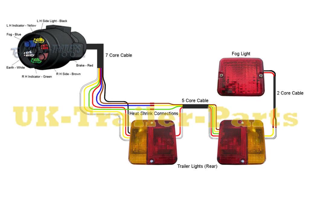 Trailer Light Board Wiring Diagram, 7 Pin Round Trailer Plug Wiring Diagram Nz