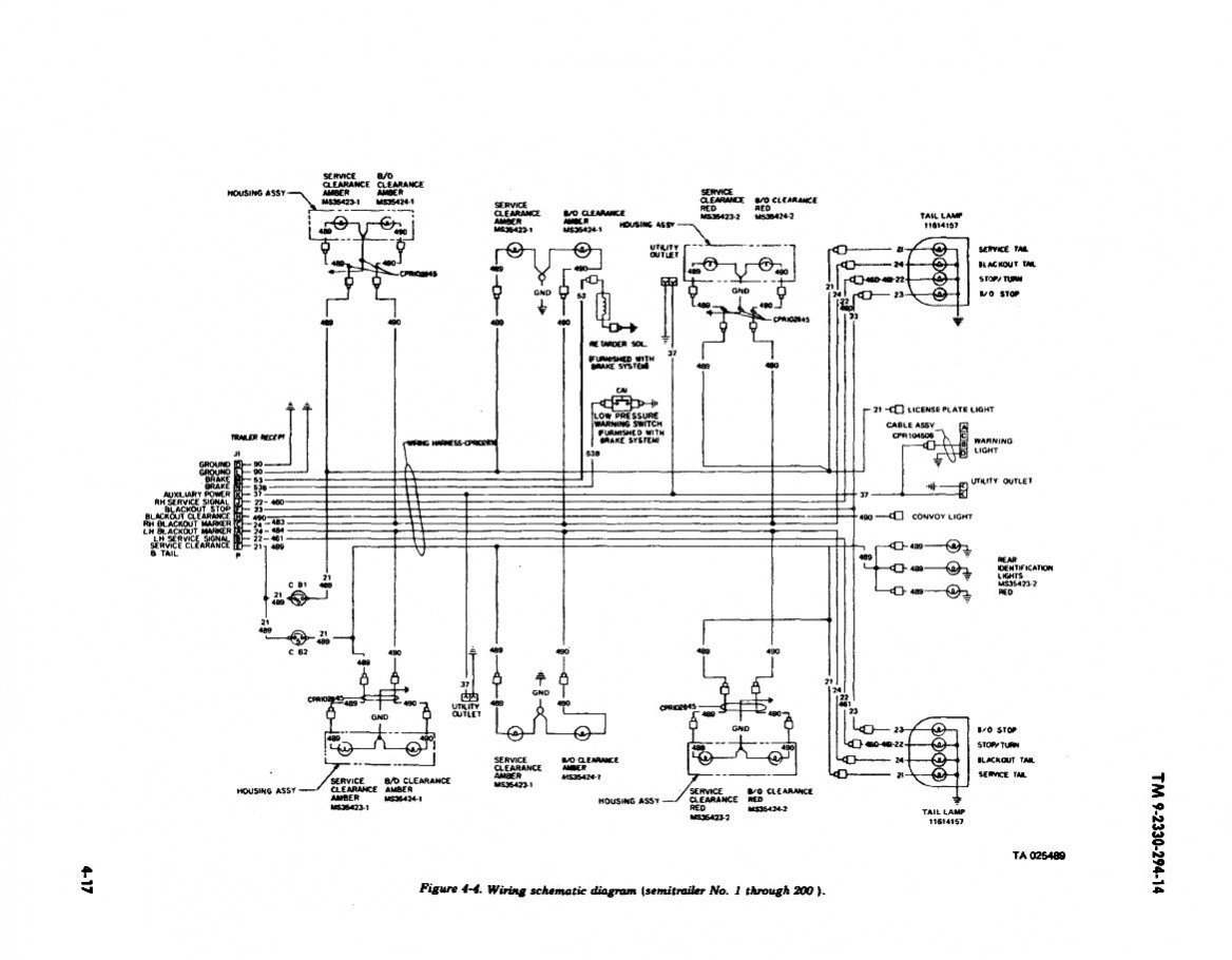 Tractor Trailer Wiring Diagram