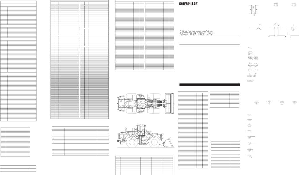 980G WHEEL LOADER ELECTRICAL SYSTEM SCHEMATIC CAT