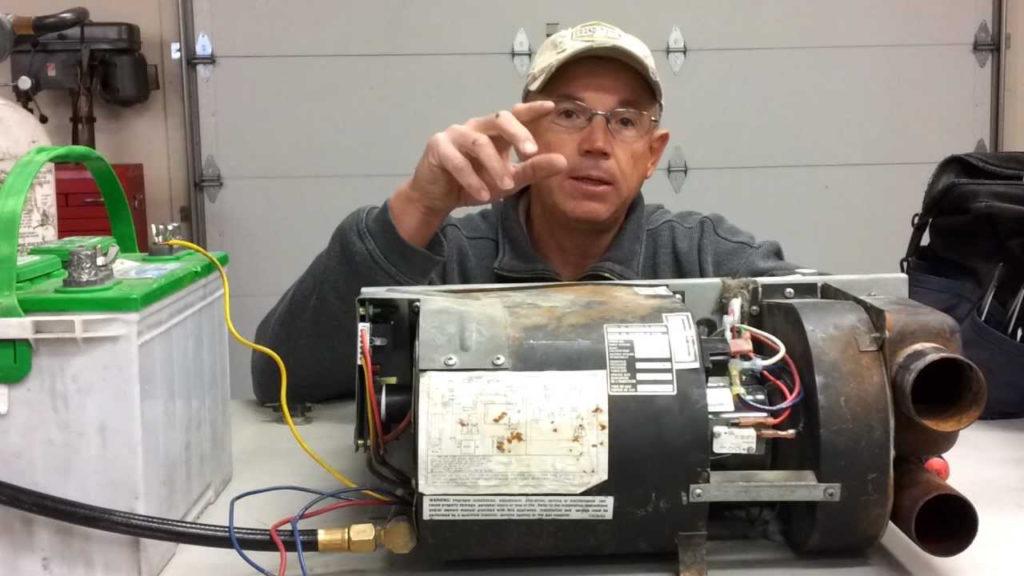 All Seasons Mobile RV Repair Suburban SF 42 Furnace Test