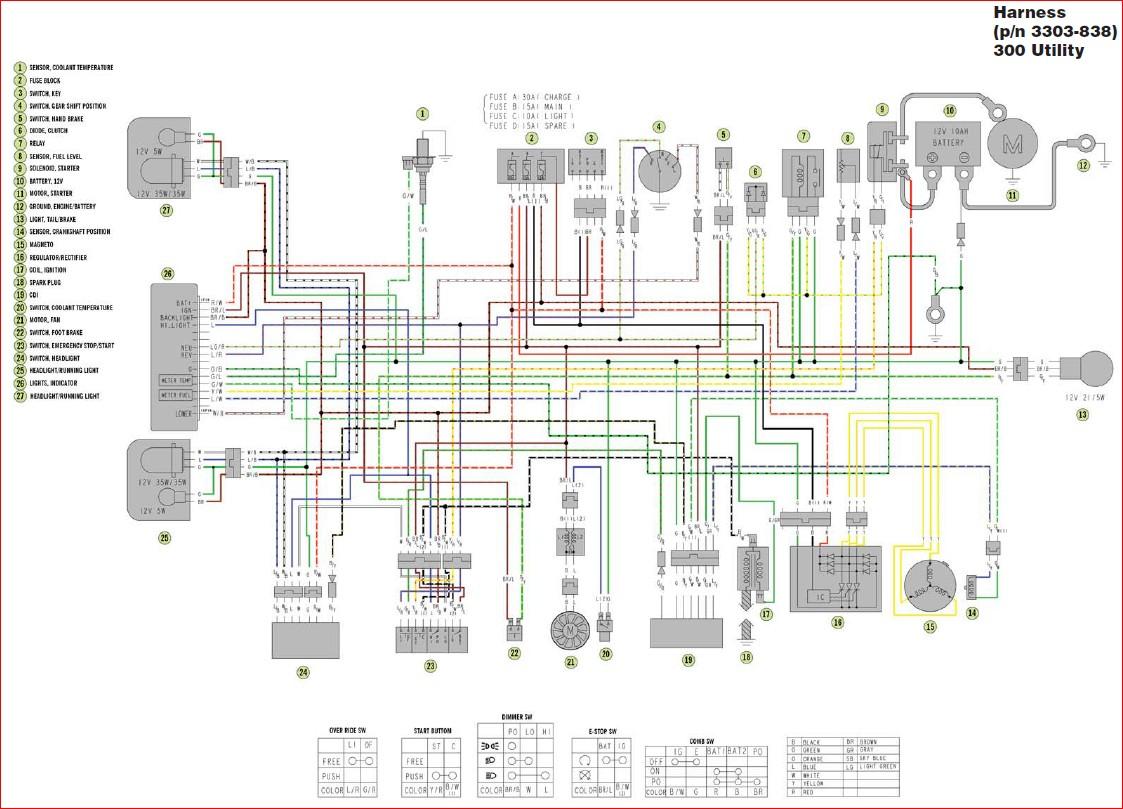 Wiring Diagram Arctic Cat 700