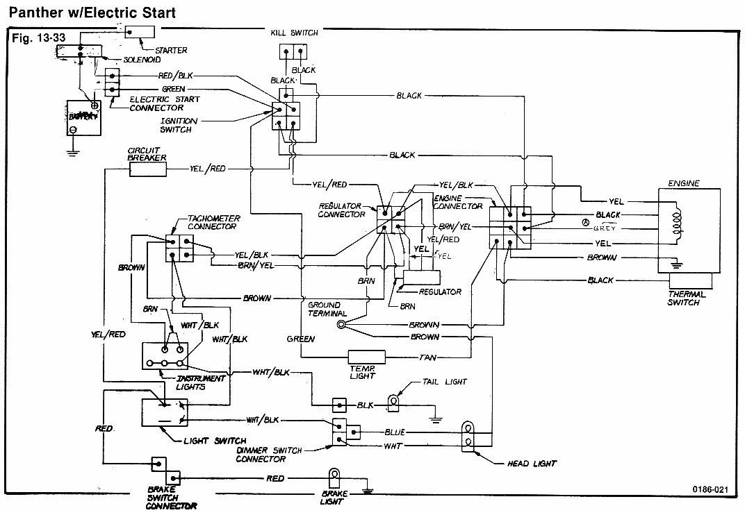 Arctic Cat Z 440 Wiring Diagram