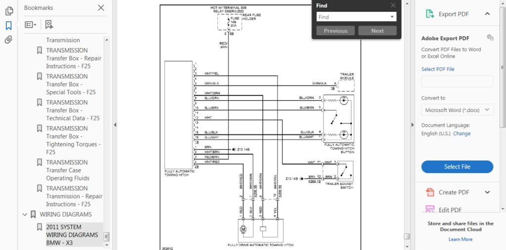 Bmw X3 E83 Trailer Wiring Diagram Trailer Wiring Diagram