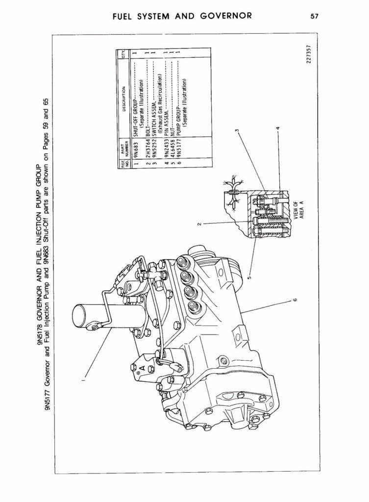 Cat 3208 Fuel System Diagram Free Wiring Diagram