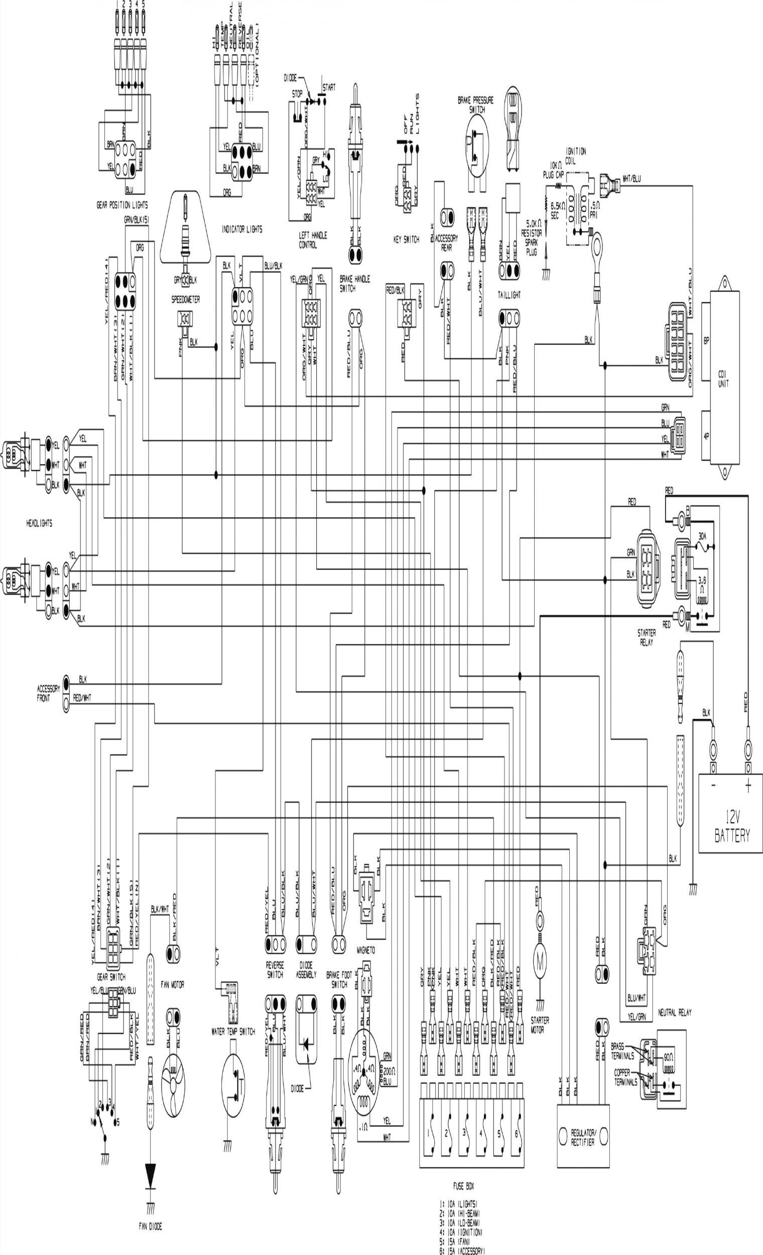 Arctic Cat Z1 Wiring Diagram