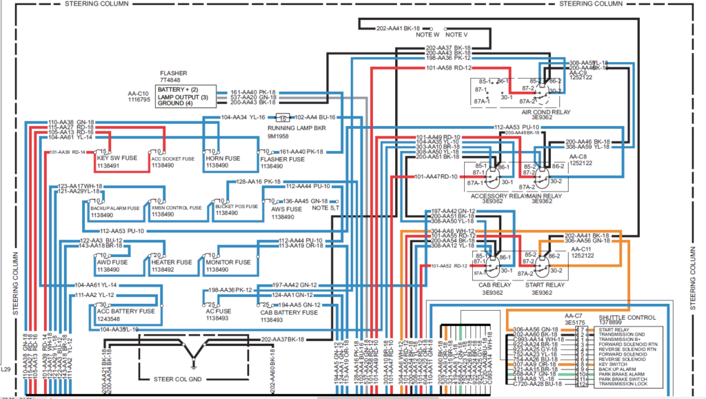 Cat 420e Wiring Diagram Wiring Library