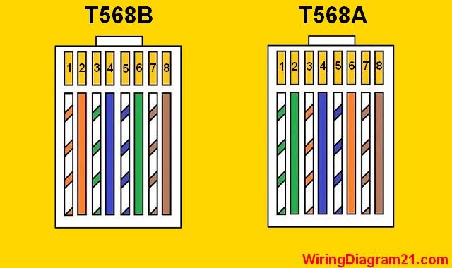 Cat 5 Wiring Diagram Color Code