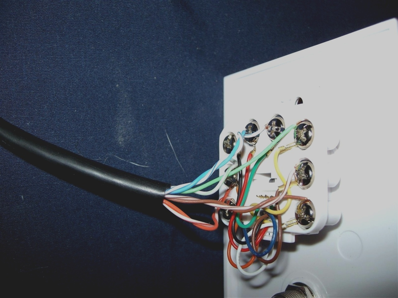 Cat 5e Wiring Diagram For Wall Plates