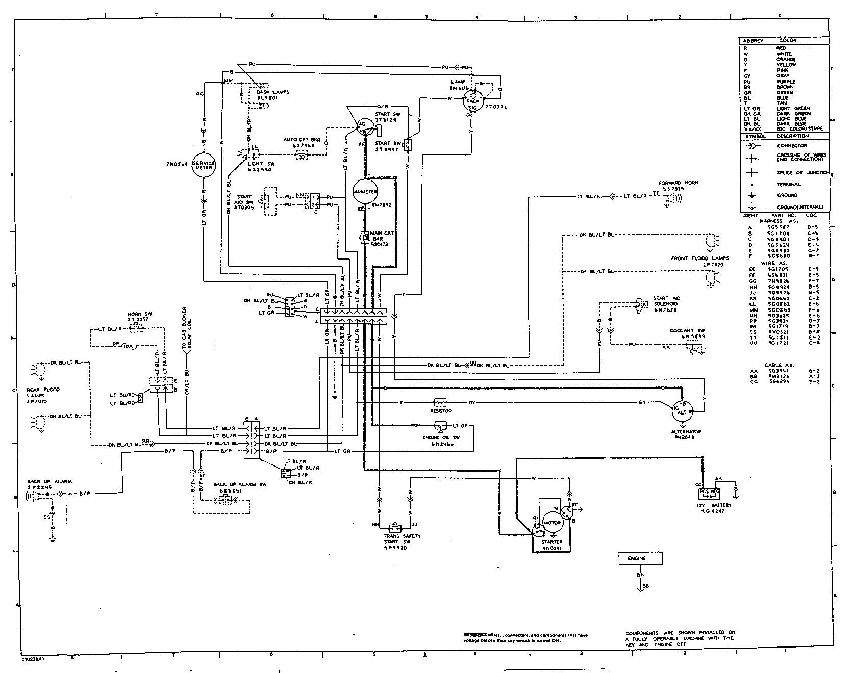 Cat Starter Wiring Diagram