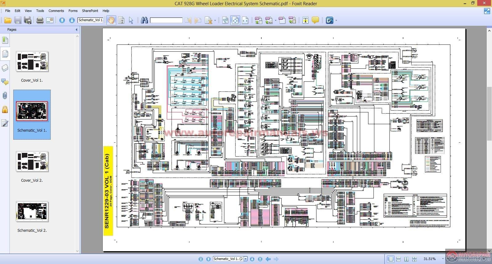 Cat 928g Wiring Diagram