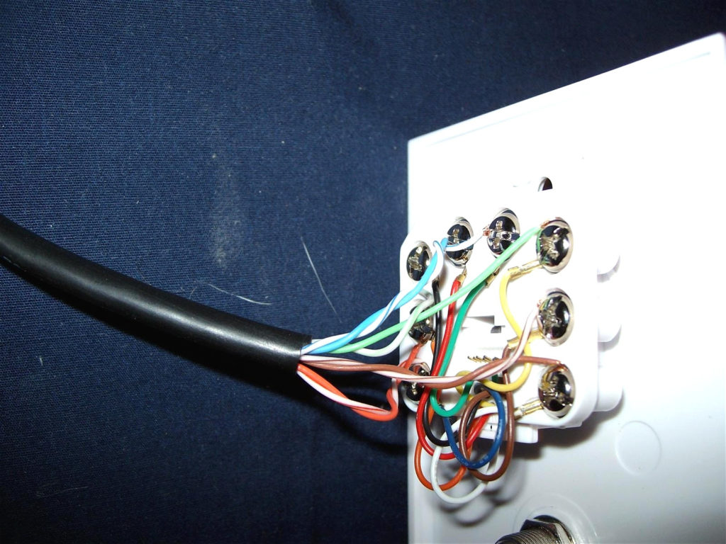 Cat5 Wall Plate Wiring Diagram Collection