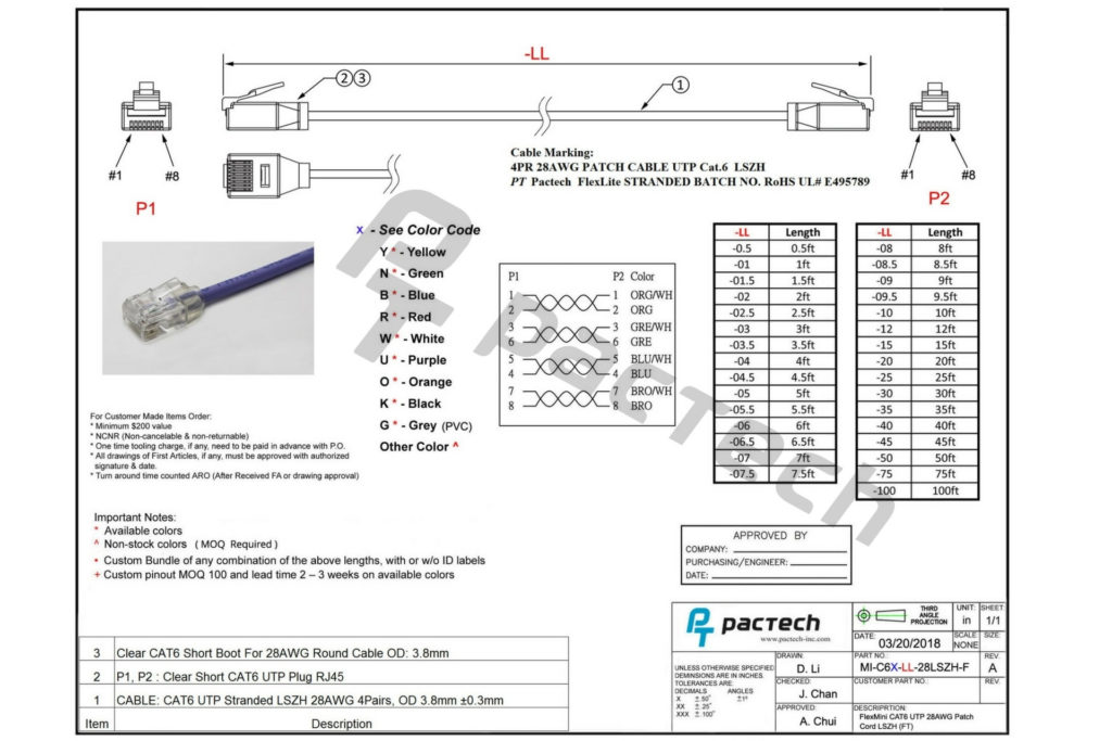Cat6 Ethernet Cable Wiring Diagram Free Wiring Diagram