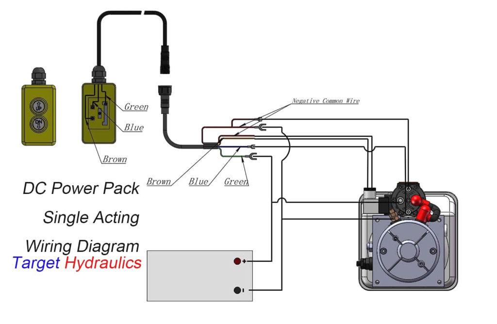 Collection Of Dump Trailer Hydraulic Pump Wiring Diagram